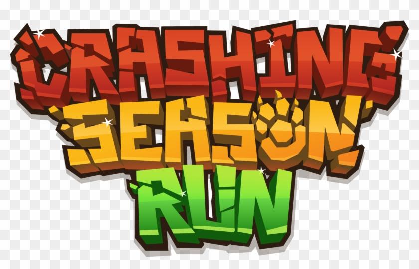 Crashing Season Run Logo - Mobile Game Logos #61506