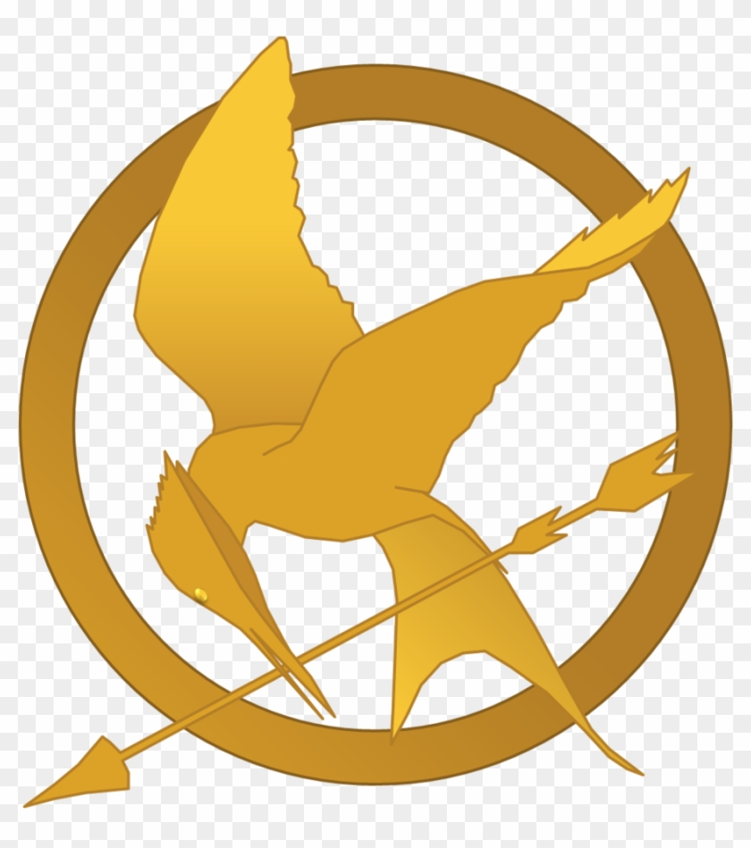 Hunger Games Mockingjay Symbol By Randomperson77 - Hunger Games Mockingjay Symbol #61630