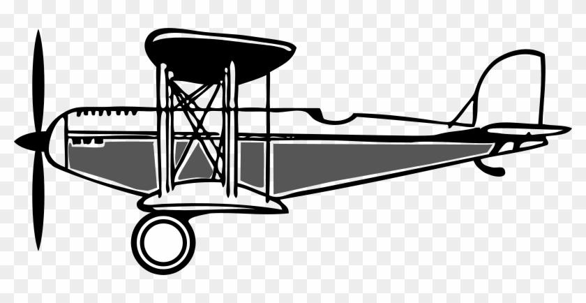 Similar Clip Art - Biplane Clipart #61707