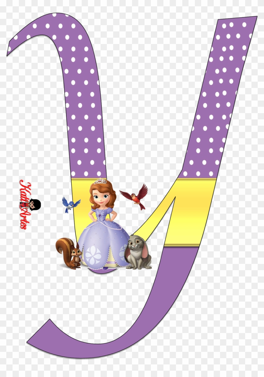 Sofia The First Alphabet - Sofia The First Printable Letters #61741