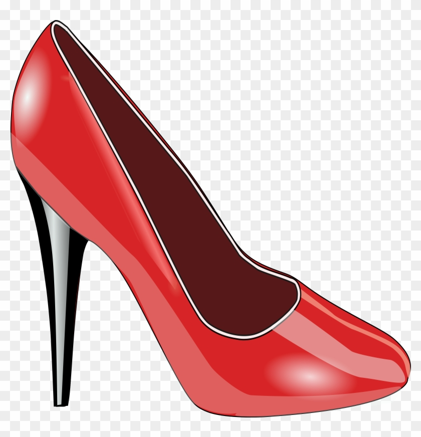 Clipart Red Shoe - Red Shoe Clipart #61755
