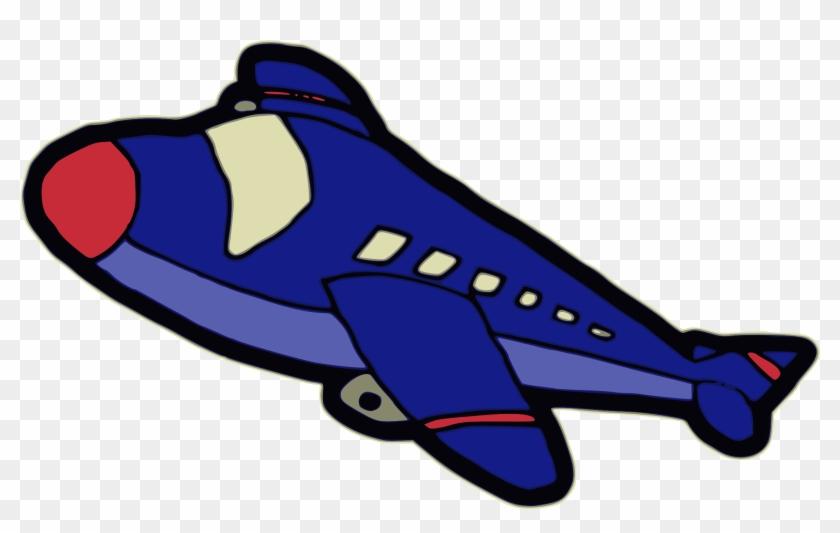 Free Airplane - Aviao Em Desenho Animado #61752