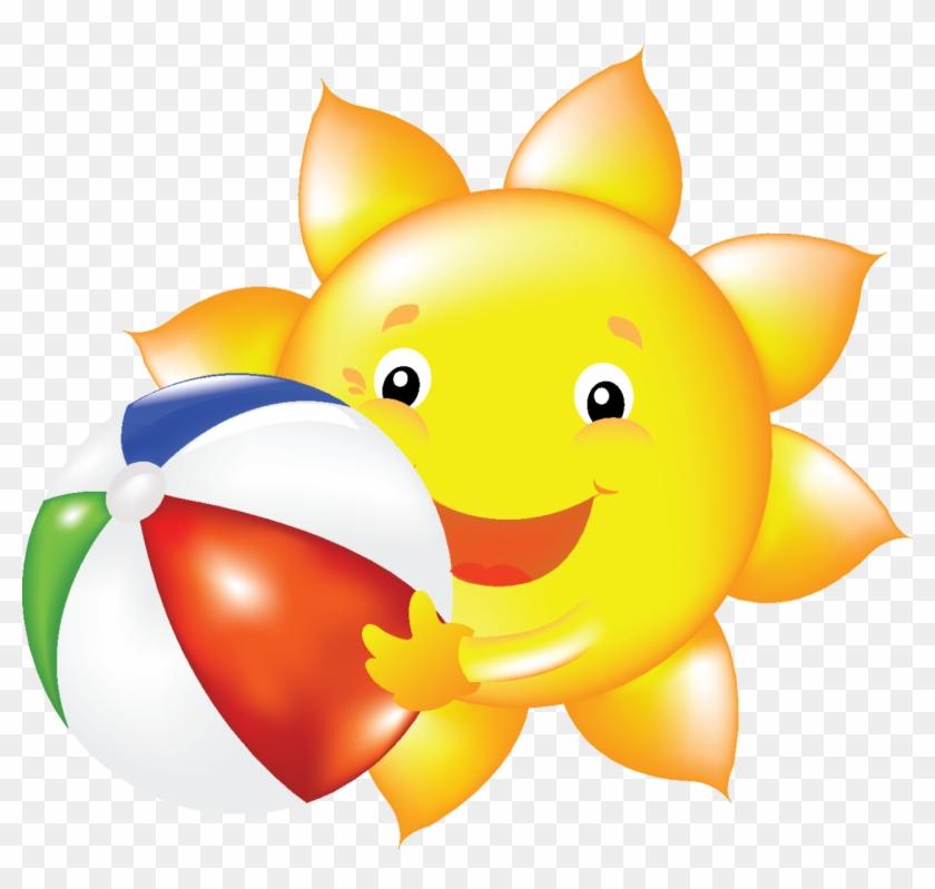 Summer Sun Clip Art - Summer Sun Clip Art #61790