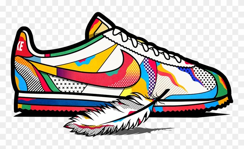 Sneakers Set - Nike Cortez - Van Orton Shoe #61919
