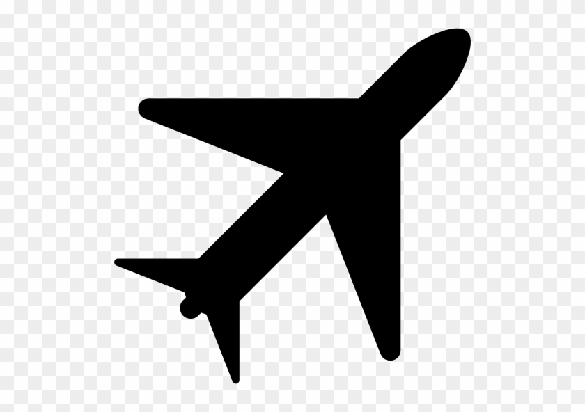 Planes, Science And Tech, Silhouettes, Transport, Rotated - Planes Icon #61917