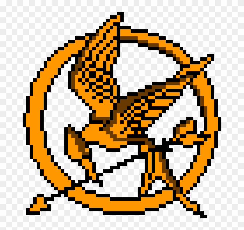 Hunger Games Symbol ~ Ben - Pixel Art Hunger Games #61925