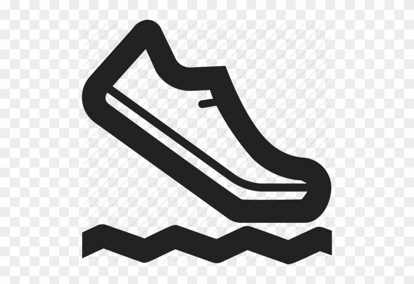 Track Shoe Clip Art - Cross Country Running Icon #61930