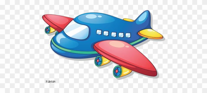 Kind - Desenho De Avião Colorido #61939