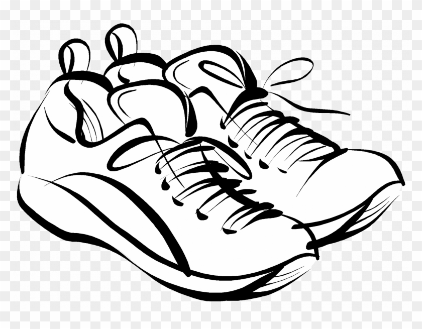 Pin Running Shoes Clipart