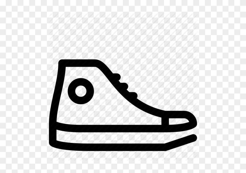Converse Clipart Vans Shoe Converse Icon Free