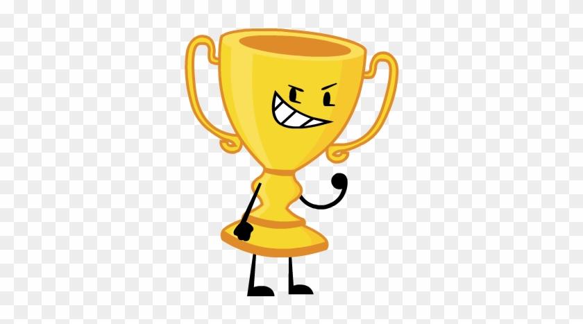 Knife2017pose Trophy2017pose - Battle For Dream Island Trophy #61996
