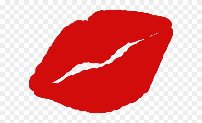 Kissing Clipart Kissy Lip - Cartoon Kiss Lips #62059
