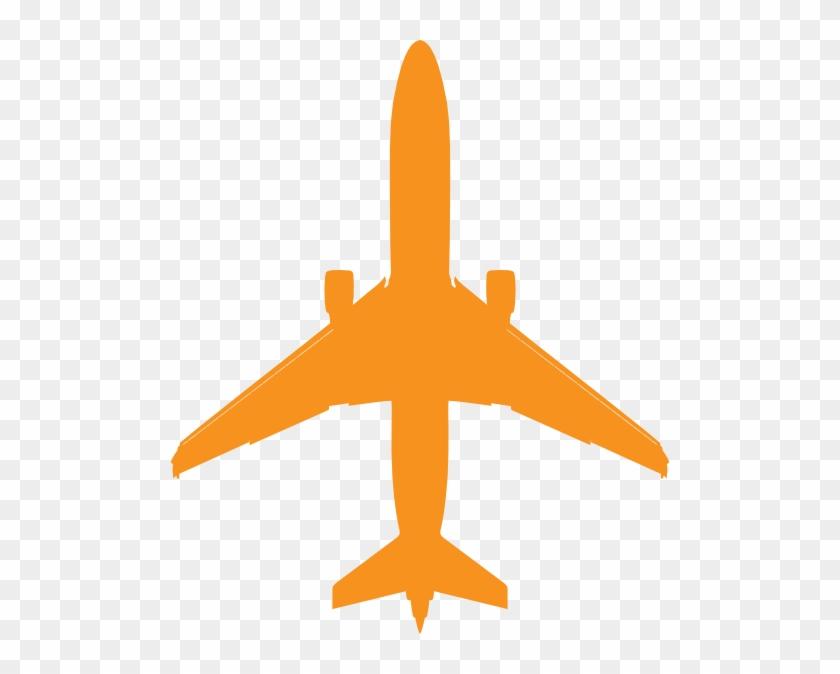 Plane Clip Art At Clkercom Vector Online - Plane Silhouette Blue #62114