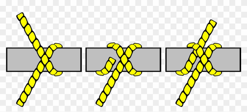 Free Tying Knots - Do A Clove Hitch Knot #62113