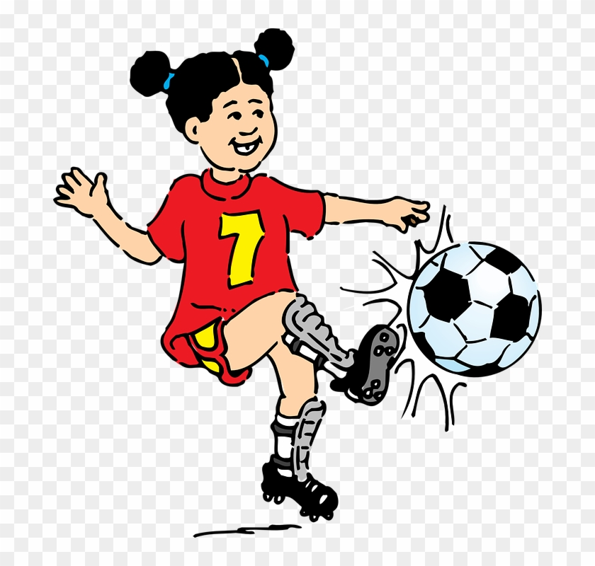 Free Vector Graphic - Playing Football Clip Art #62146