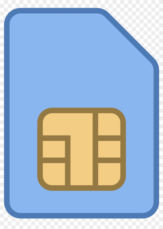 Sim Card Icon - Sim Icon #62150