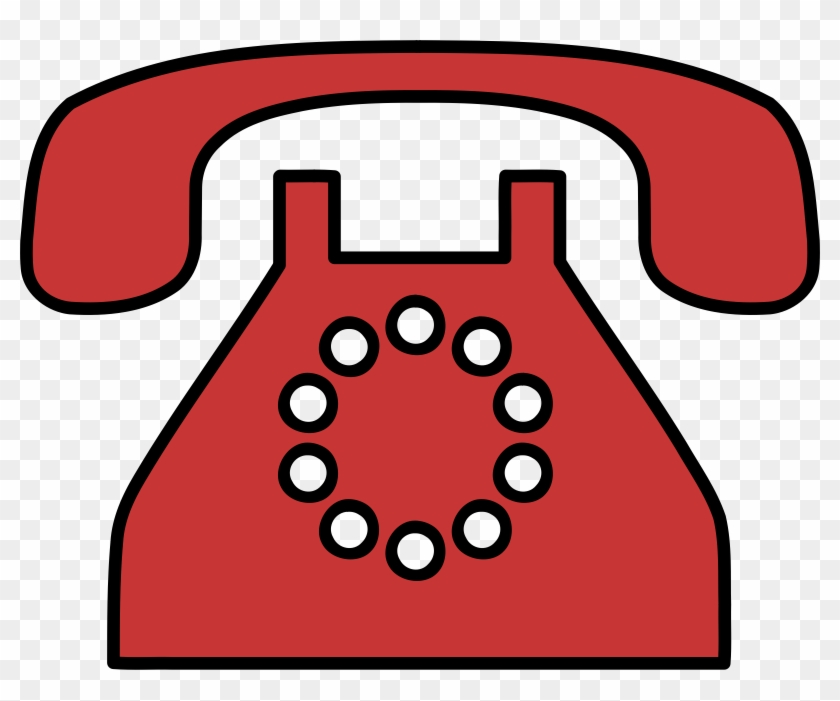 Big Image - Old Fashioned Phone Clipart #62225