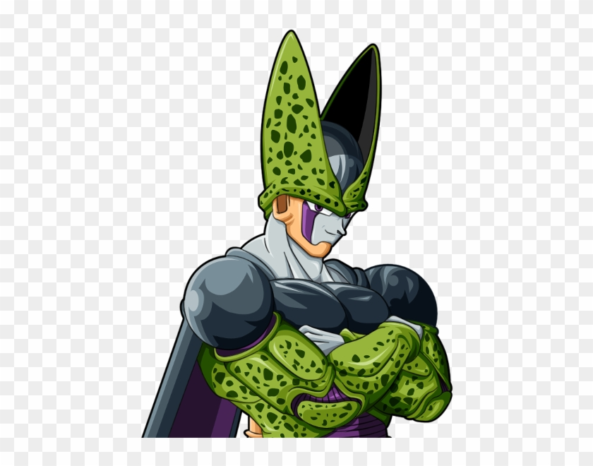 Freeza And Dbz Cell Perfect Form Free Transparent Png Clipart Images Download