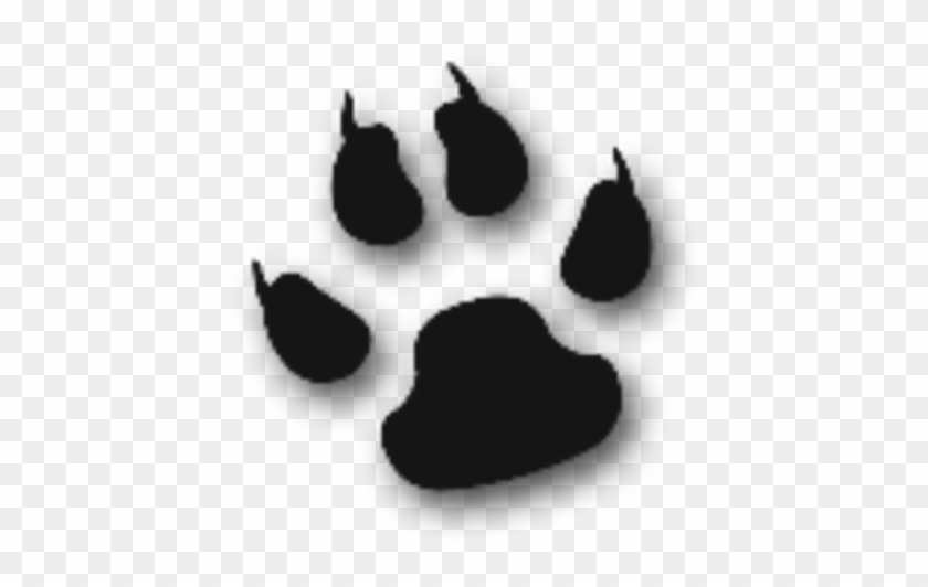 Cool Cat Animal Paw Free Images At Clker - Dog Paw #62378
