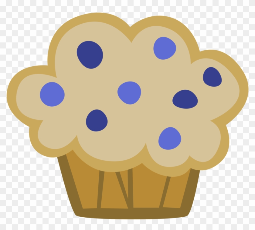 Muffin Clipart Animated - Blueberry Muffin Clipart #62477