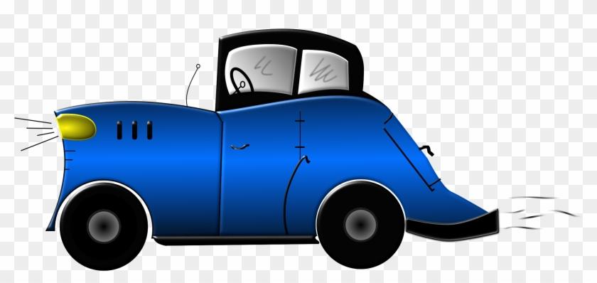 Clipart Cartoon Car - Araba Çizgi Film Png #62484