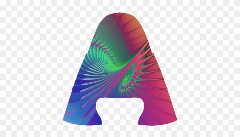 Psychedelic Fractal Spiral - Construction Paper #62523