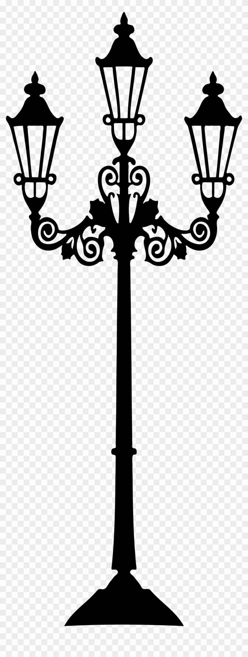 Drawn Bulb Victorian - Street Light Vector #62525