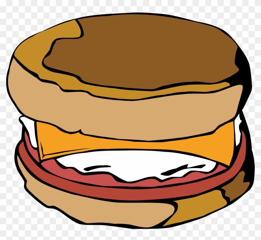 Eggs Food Clipart - Egg Sandwich Clipart #62534