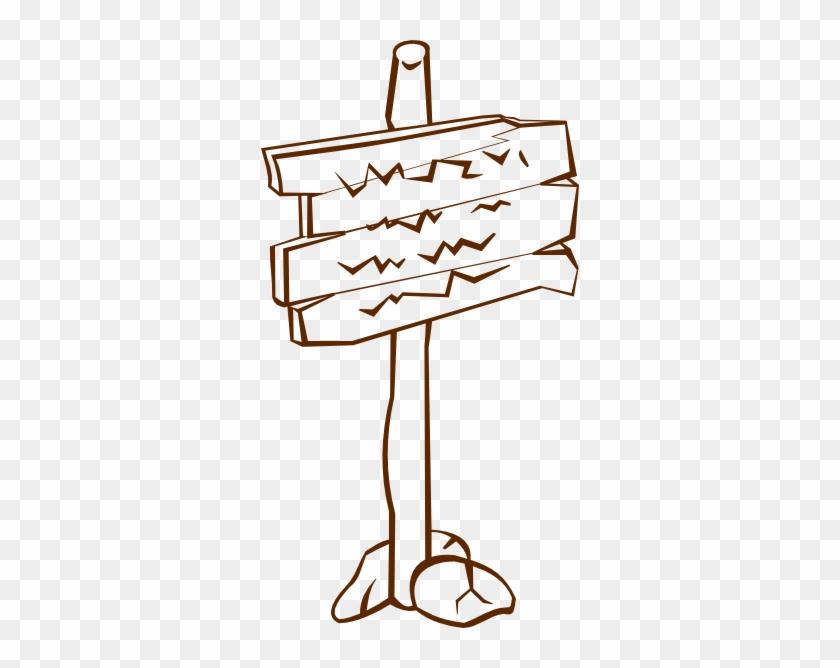 Sign Post Clip Art #62567