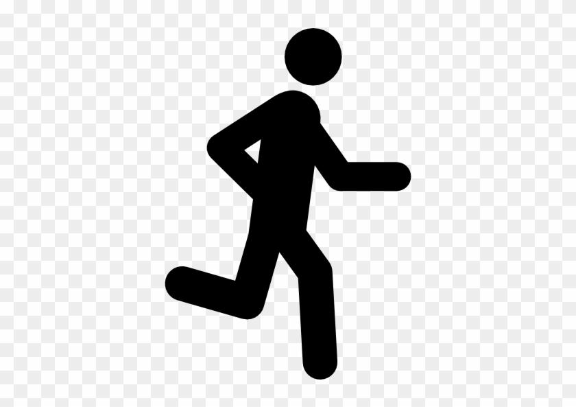 Size - Man Run Icon Png #62570