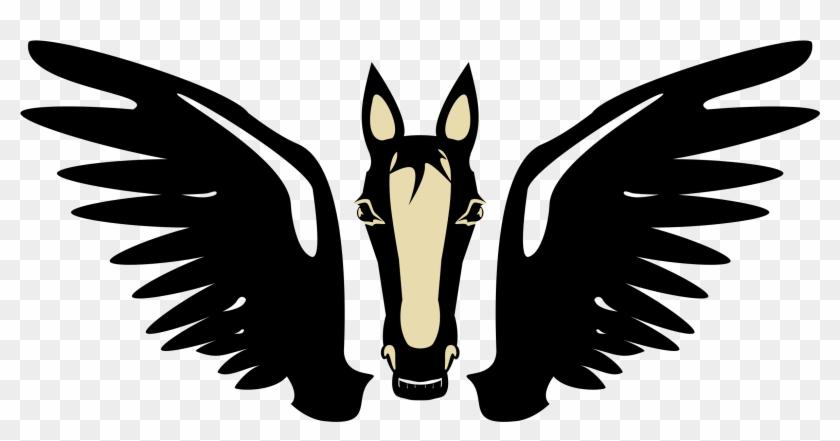 Fantasy - Pegasus Clip Art #62586