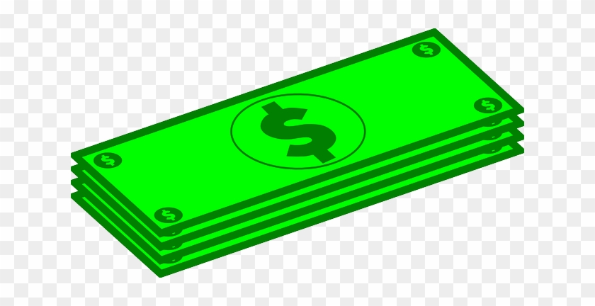 Cost Currency Dollars Four Green Money Pri - Dollars Clipart #62617