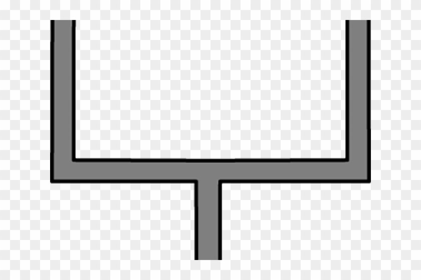 Goal Post Clipart - Clip Art #62676