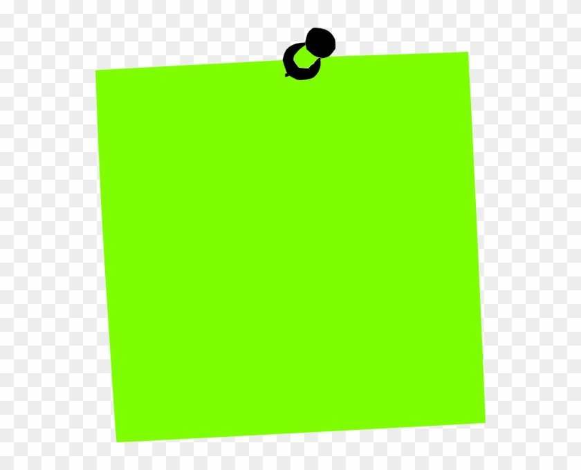 How To Set Use Post It Note Green Svg Vector - Clip Art #62677