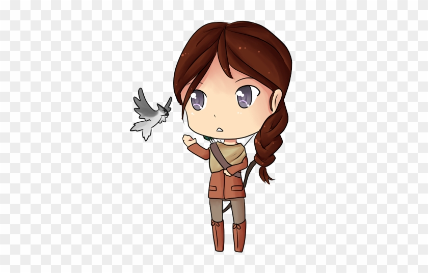 Hunger Games - Katniss Chibi #62682