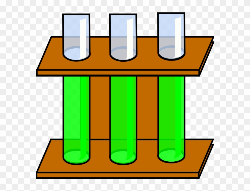 Empty Test Tubes Clipart - Test Tube Rack Png #62713