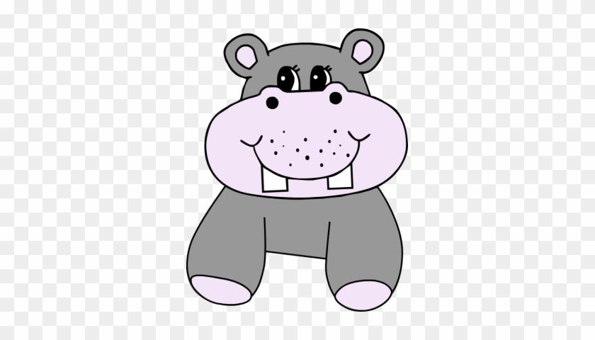 Download - Baby Hippo Clip Art #62737