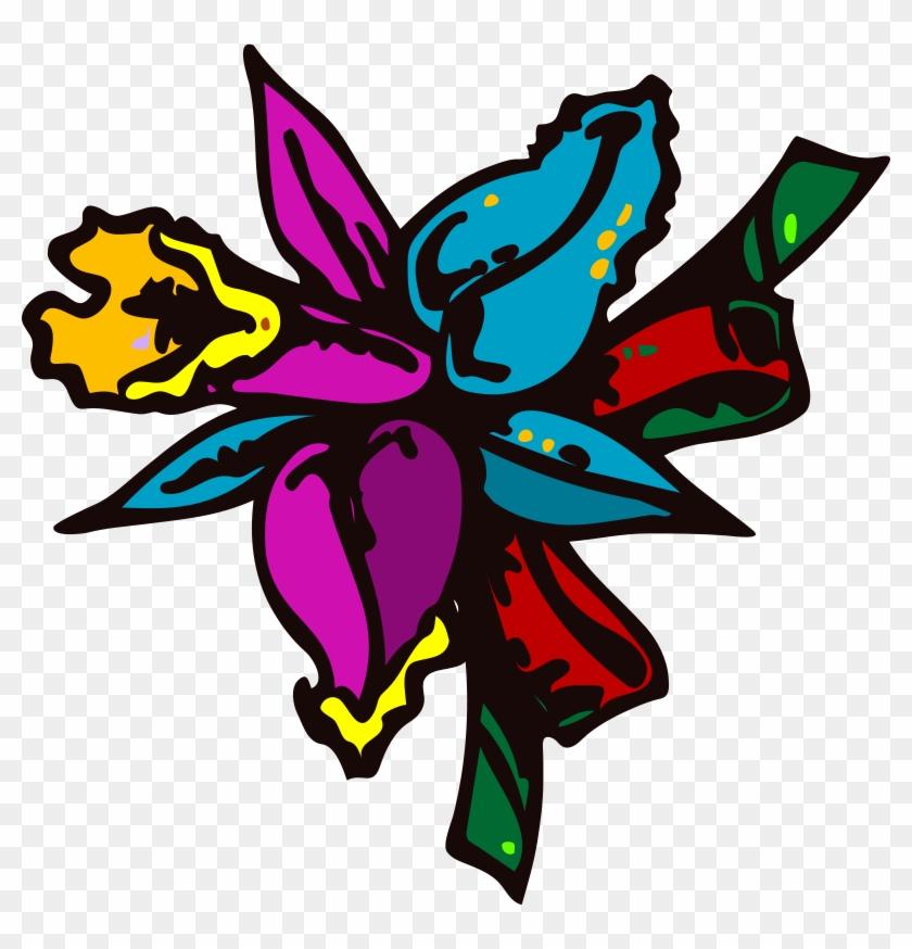 Free Architetto Mazzo Di Fiori - Cartoon Flowers #62773