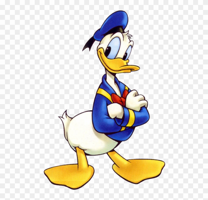 Donald Duck Png Transparent Images - Donald From Mickey Mouse #62896