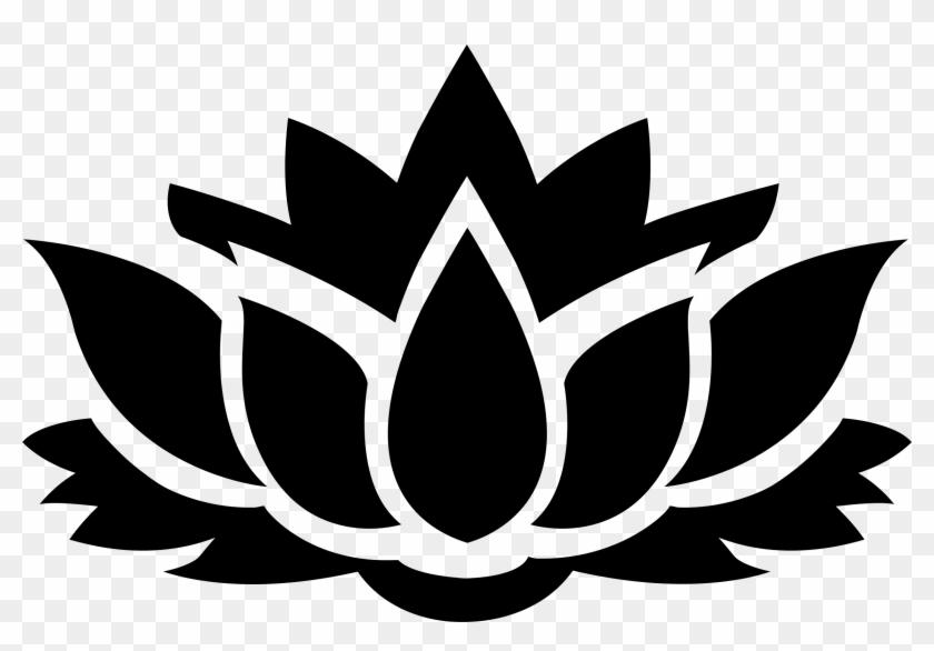 Big Image - Lotus Flower Logo Png #62961