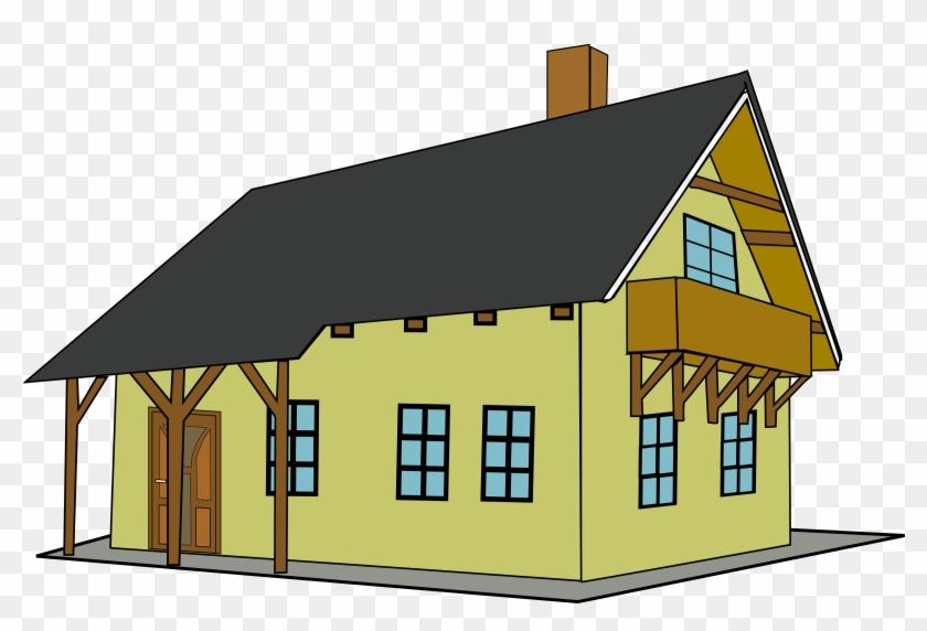Big Image - House Clip Art #63028