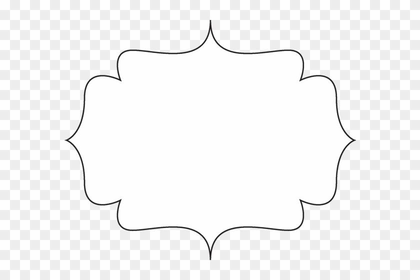 Clip Art Black And White Decorative Shape Png Free Transparent Clipart Images Download