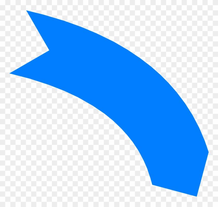 Curved Arrow Clip Art At Clker - Curve Arrow #63141