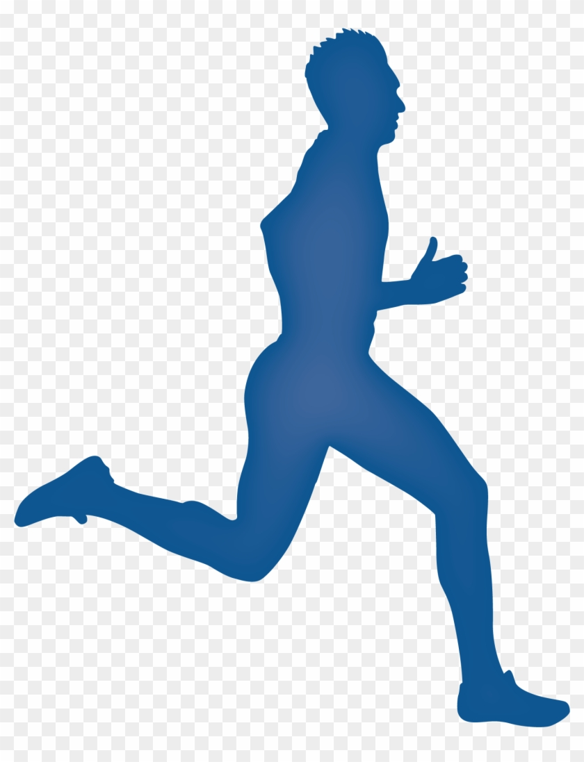 Silhouette Running Royalty-free Clip Art - Running Silhouettes #63158