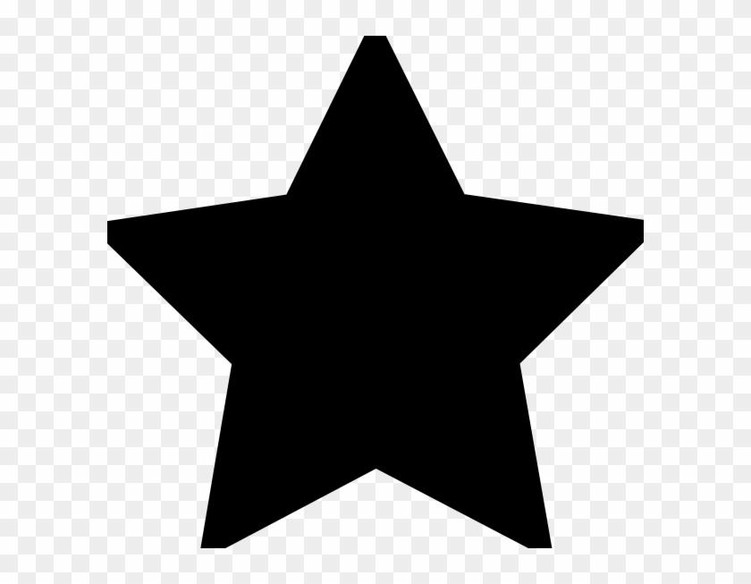 Star Icon Black Transparent #63219