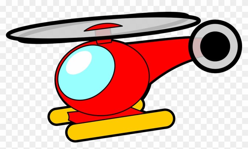 Helicopter Clipart Panda Free Images - Toy Helicopter Clipart #63376