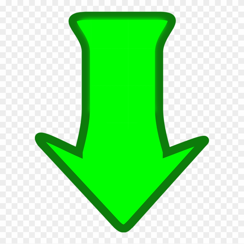 Down Arrow Arrow Pointing Down Downwards Cartoon Vector - Cartoon Arrow Pointing Down #63404