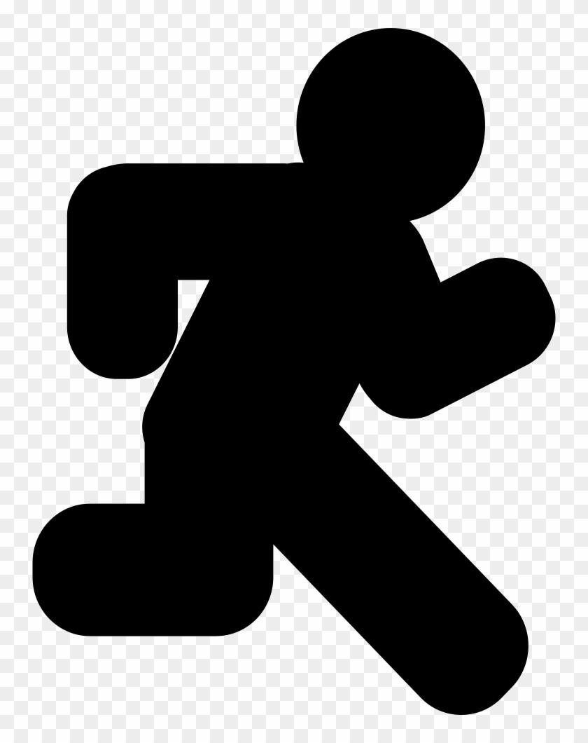 Size - Simbolo De Persona Corriendo #63439