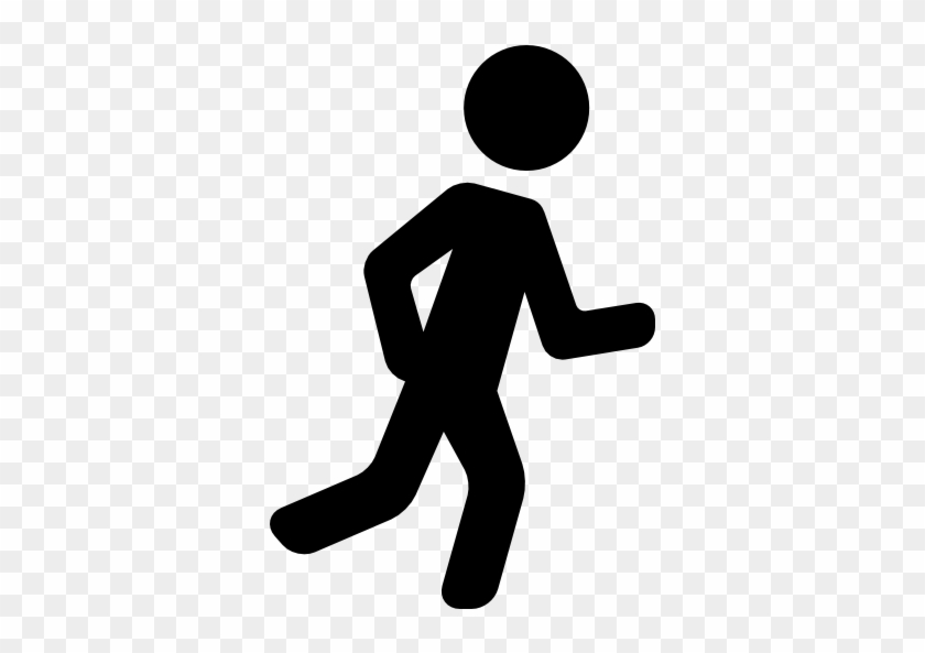 Size - Running Man Vector Png #63440