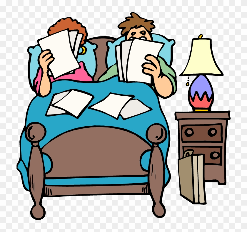 People In Bed Cartoon Picture - Two People In Bed Clipart #63566